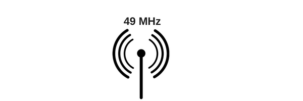 graphic of 49 MHz technology