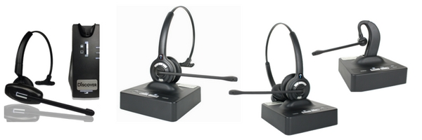 image of Discover wireless headsets
