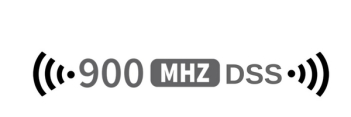 graphic of 900 MHZ DSS technology