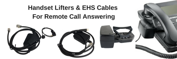 handset lifters and EHS cables