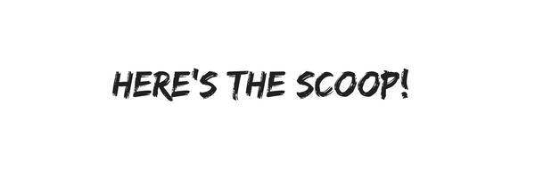word art spelling Here's the Scoop!