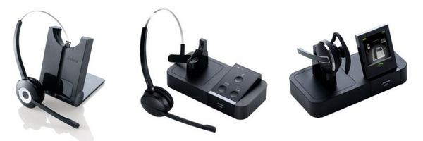 image of Jabra wireless headsets
