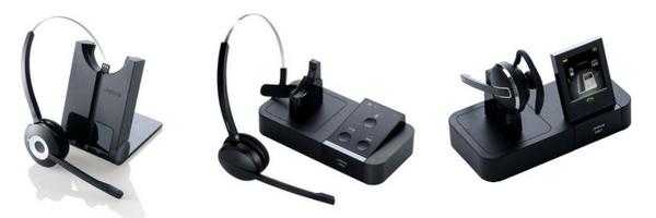 image of Jabra wireless headsets