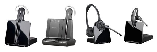 image of plantronics wireless headsets