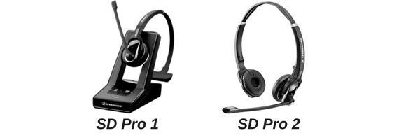 Sennheiser SD Pro 1 and 2 images