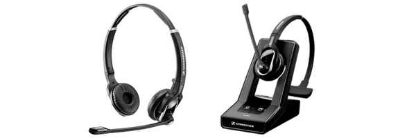 Sennheiser wireless headsets