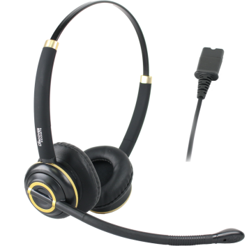 Discover D712 binaural office wired headset