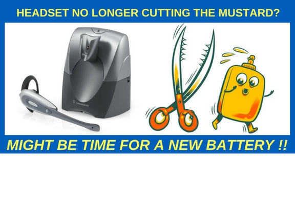 HEADSET NO LONGER CUTTING THE MUSTARD- (3)