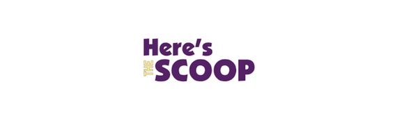 word art saying here's the scoop