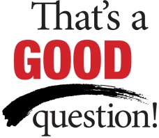 graphic saying that's a good question