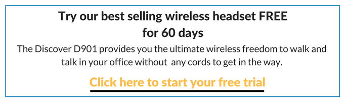graphic on trying out a wireless headset for free