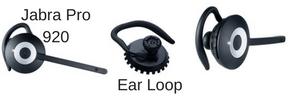 Jabra Pro 920 and ear loop