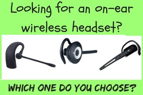 Discover D903 wireless headset, Jabra Pro 920, Sennheiser Office