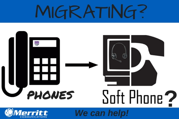 icon of phone and softphone