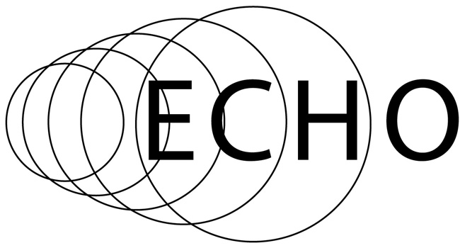 graphic of circles with the word echo inside