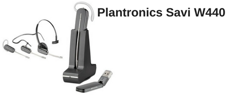 Plantronics Savi W440 USB wireless headset