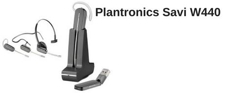 Plantronics Savi W440 USB wireless headset