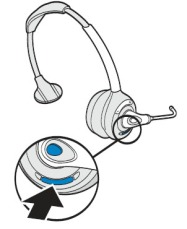 2 step pairing guide for your Plantronics CS351N/CS361N headset