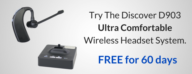 Discover D903 wireless headset