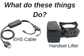 Discover DHL110 lifter and Plantronics EHS Cable