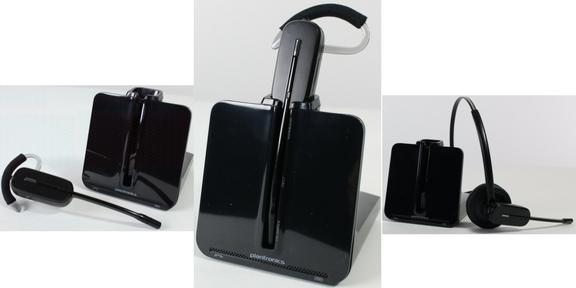 Plantronics CS540 wireless headset images