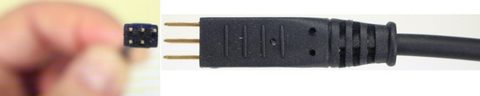 Discover EHS cable for Polycom showing the pins