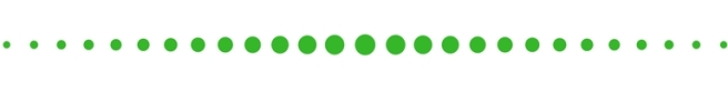 green border dots