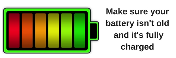 icon of a battery