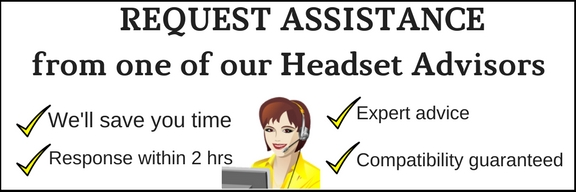 animated woman office worker with headset and computer