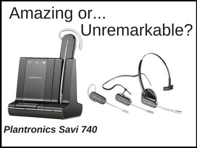 Plantronics Savi 740
