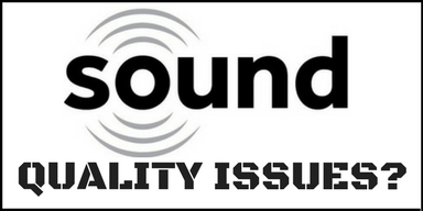 Sound quality issues graphic