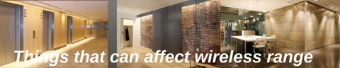 3 office interiors made of various stone material