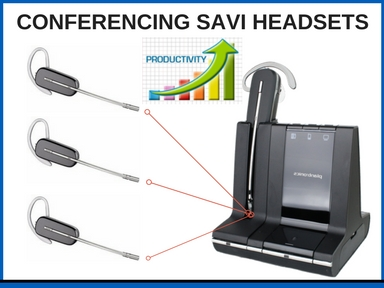CONFERENCING SAVI HEADSETS (1)