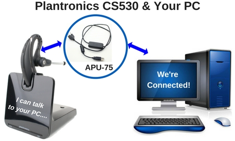 c19787d026d1da Did You Know That Your Plantronics CS530 Wireless Headset Now Works With A  PC?
