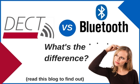 woman scratching her head pondering the difference between dect and bluetooth