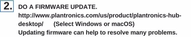 Do a firmware update