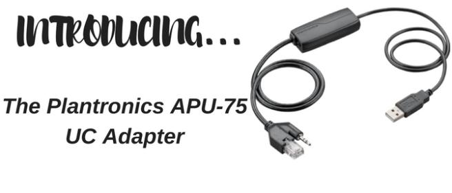 Plantronics APU-75 UC Adapter