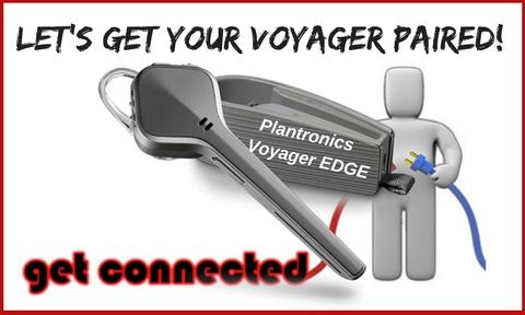 Plantronics Voyager Edge Bluetooth Headset