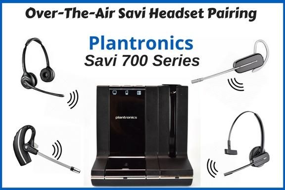Over-The-Air Pairing - Savi 700 Series 2