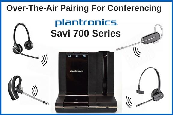 Savi 700 series wireless headsets