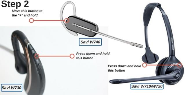 Plantronics Savi W710, W730 and W740 wireless headsets