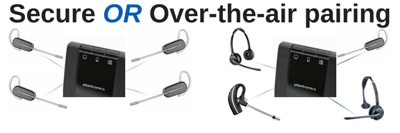 4 Easy Steps To Pair 4 Plantronics Savi Wo2 Headsets For