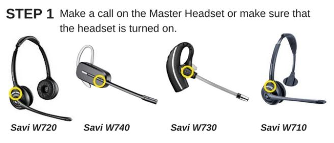 Plantronics Savi W720, W740, W730 and W710 wireless headsets
