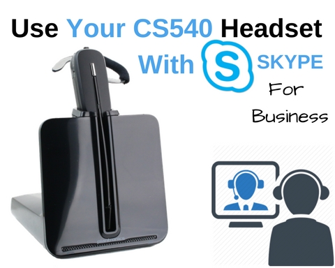 use CS540 with Skype (1)