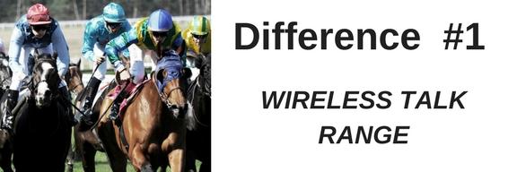 Image of jockeys on horses racing