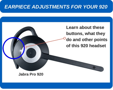 jabra pro 920 headset top