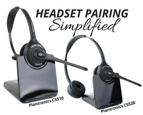 3 step plantronics cs510 cs520 c052 pairing guide merrittcomm rh blog merrittcomm com Wireless Gaming Headset Bose Wireless Headphones