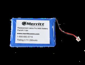 jabra pro 9400 battery- Blue