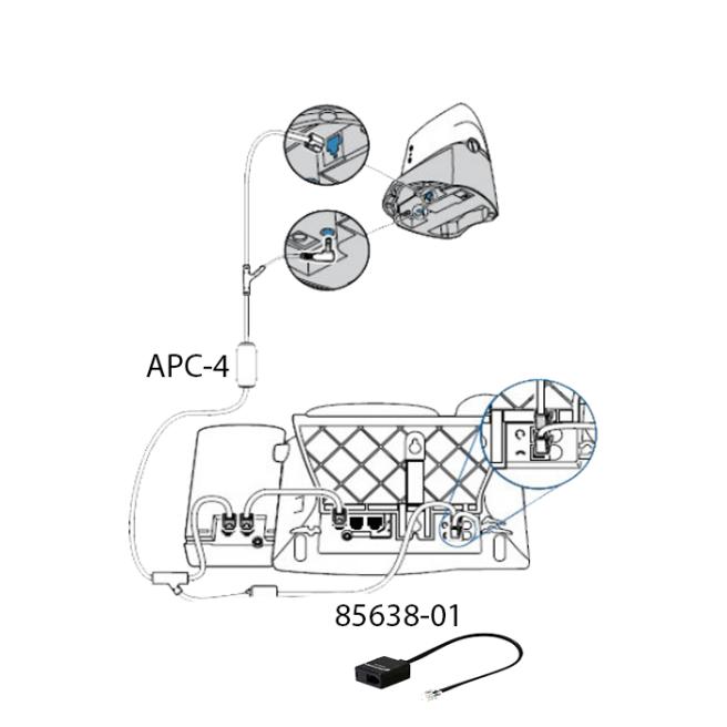 Plantronics APC-4 Setup Guide For CS50, CS55, CS351n